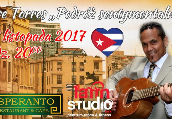 Koncert Jose Torres w Białymstoku. Zaprasza Latin Studio i Esperanto Cafe