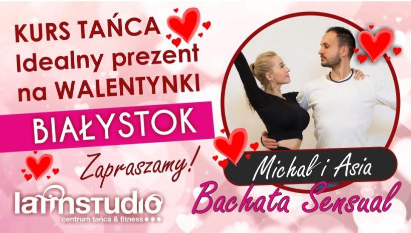 """Bachata Sensual (w parach) od """"0"""" Idealny prezent na Walentynki!"""